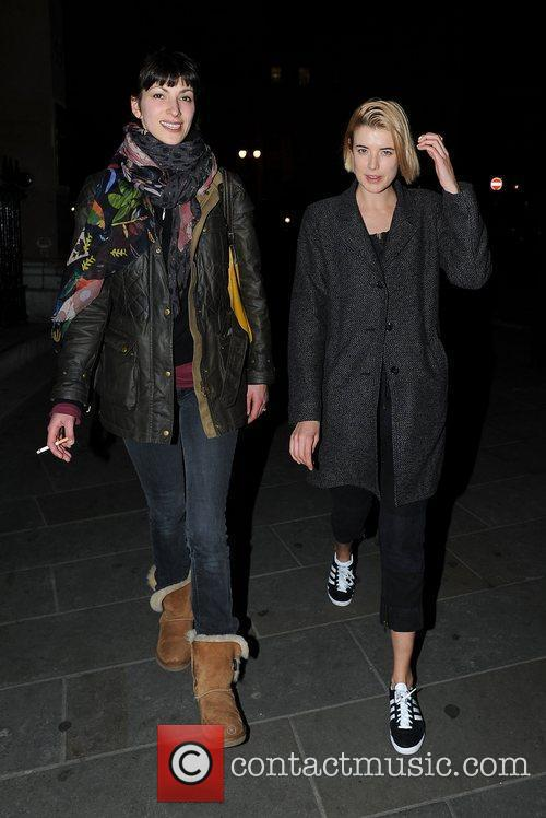 agyness deyn leaving trafalgar studios london england   120312 3776107