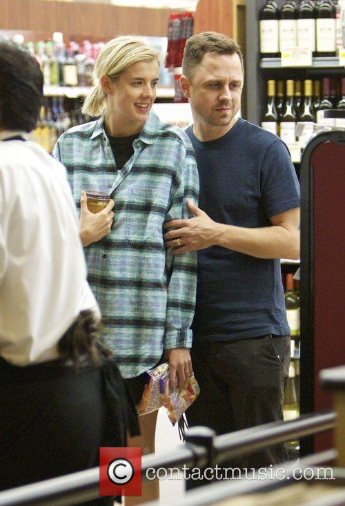 Agyness Deyn and Giovanni Ribisi 5