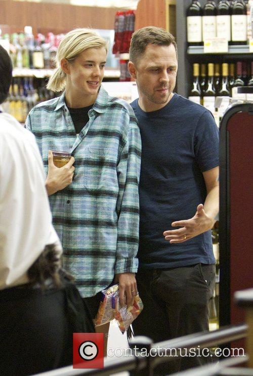 Agyness Deyn and Giovanni Ribisi 1