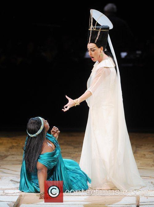 Aida  dress rehearsal of Raymond Gubbay's new...