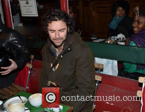 The Hobbit actor Aidan Turner came over all...