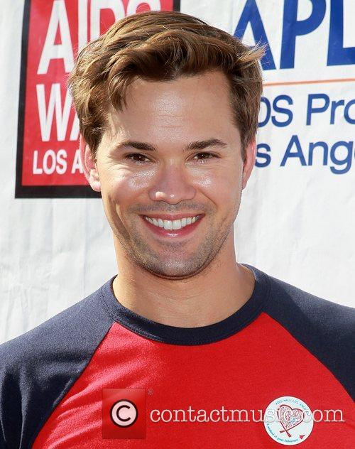 Andrew Rannells 28th Annual AIDS Walk Los Angeles...