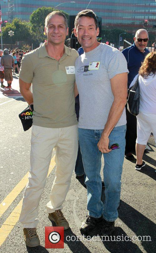 Councilmembers John D'Amico and John Duran...