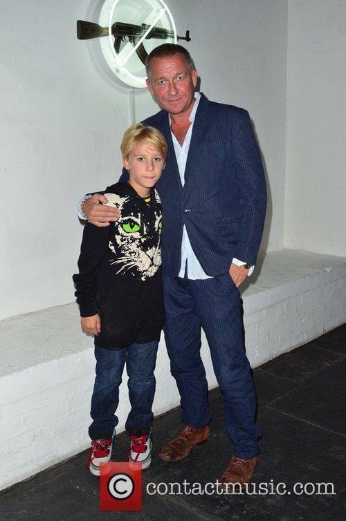 Sean Pertwee and son Alfred Pertwee 'AKA Peace'...