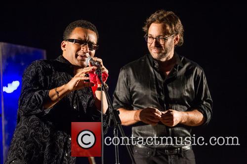 Al Di Meola and Gonzalo Rubalcaba performing live...