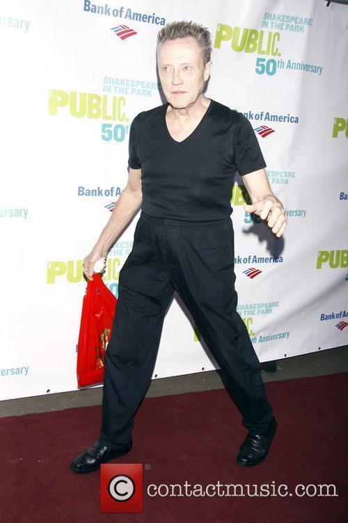 Christopher Walken   50th Anniversary Gala to...