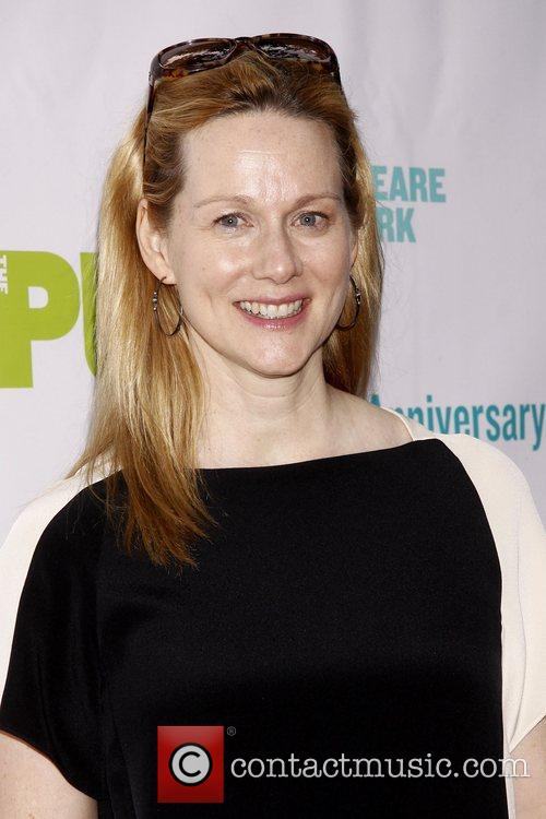Laura Linney and Central Park 5