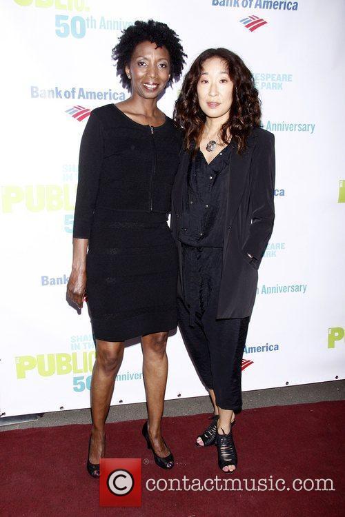 Sharon Washington and Sadra Oh   50th...