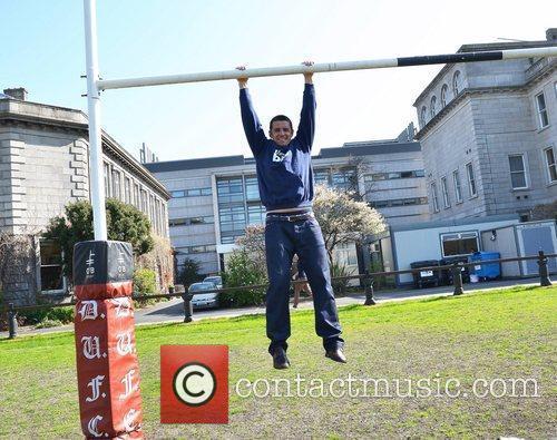 Former Irish international rugby player Alan Quinlan at...