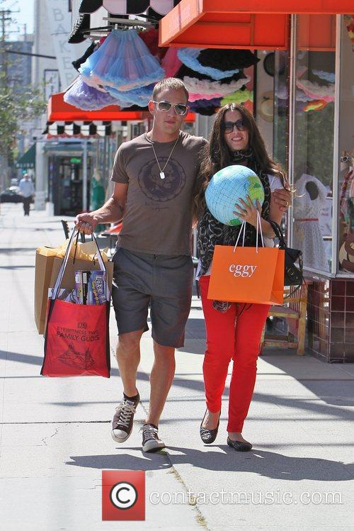 Alanis Morissette and her husband Mario Treadway...