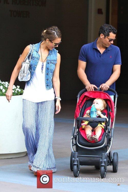 br>Jessica Alba , Cash Warren and Haven Garner...