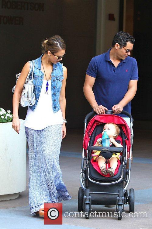 Jessica Alba, Cash Warren, Haven Garner Warren, Newsroom and West Hollywood 10