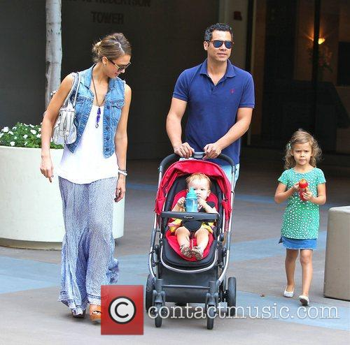 Jessica Alba , Cash Warren, Honor Marie Warren,...