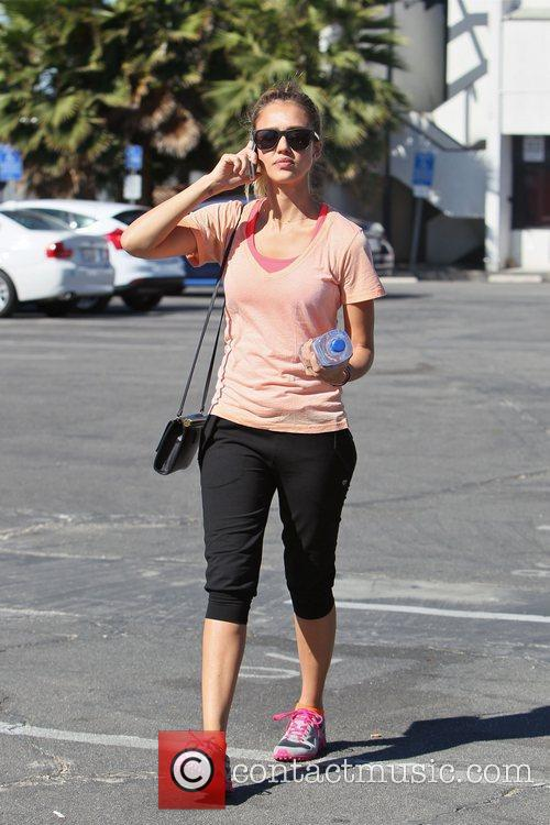jessica alba is seen heading to an 5902885