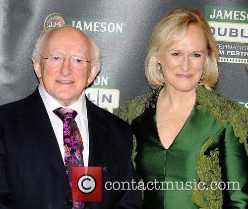 Michael D Higgins and Glenn Close The Irish...