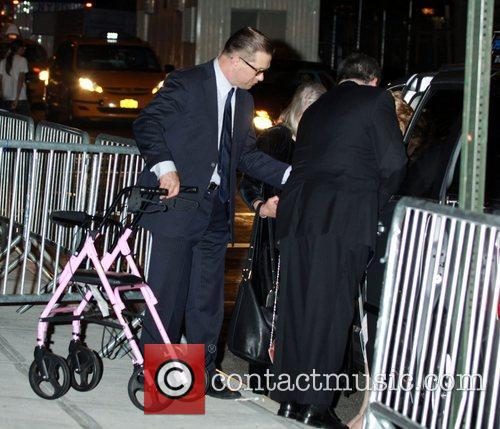 Guests arrive at New York University's Kimmel Center...