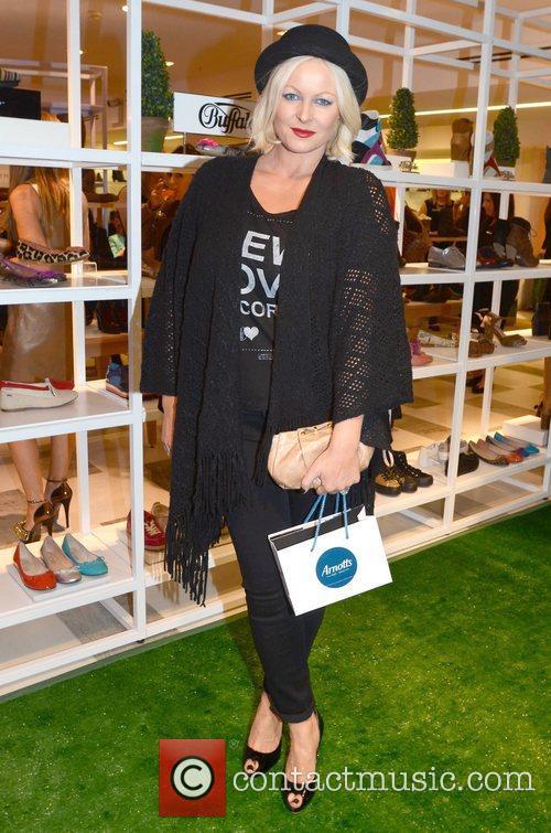 Amanda Brunker Guests arrive at Ireland's largest shoe...