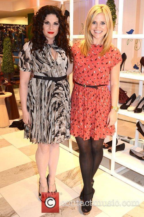 Lisa Cannon, Karen Koster Guests arrive at Ireland's...