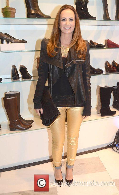 Lorraine Keane Guests arrive at Ireland's largest shoe...