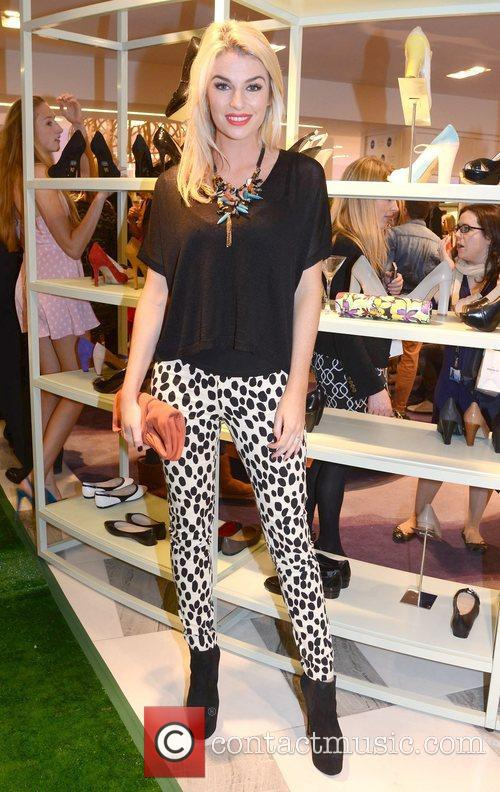 Pippa O'Connor Guests arrive at Ireland's largest shoe...