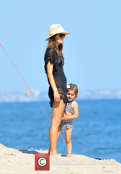 Alessandra Ambrosio and Malibu Beach 8