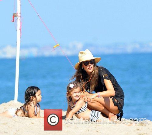 Alessandra Ambrosio and Malibu Beach 9