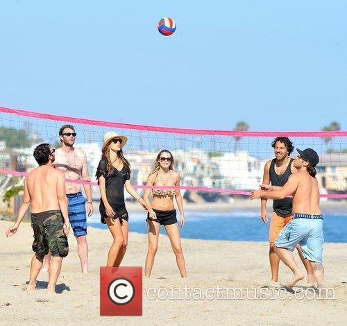 Alessandra Ambrosio and Malibu Beach 2