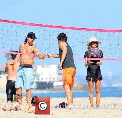Alessandra Ambrosio and Malibu Beach 5