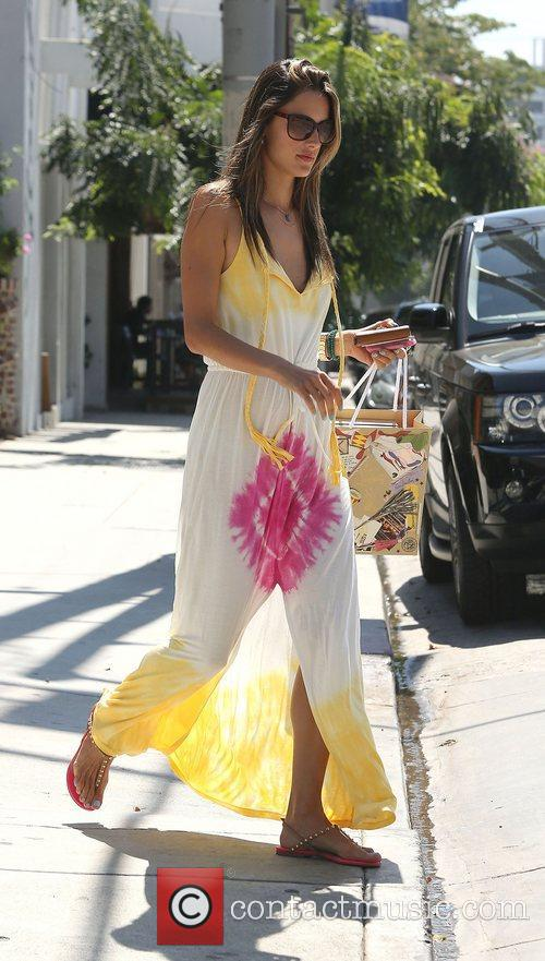 Alessandra Ambrosio and West Hollywood 13
