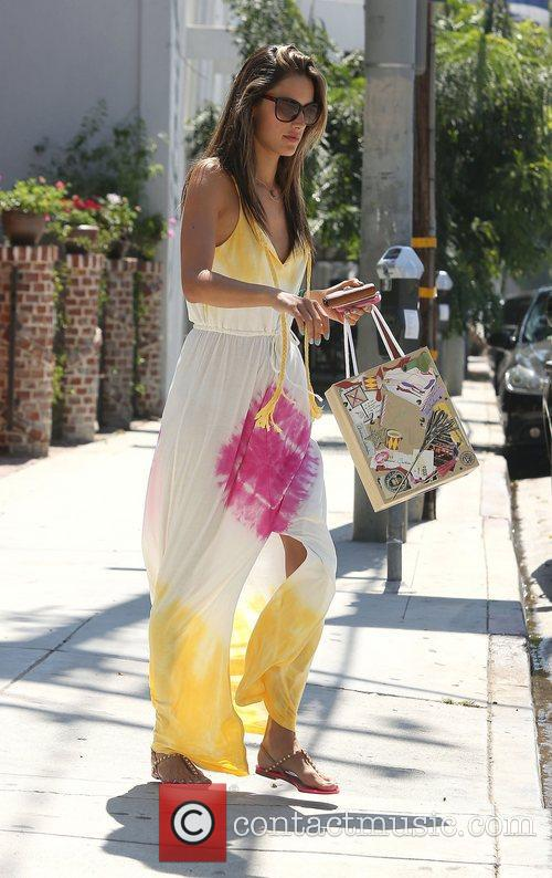 Alessandra Ambrosio and West Hollywood 12