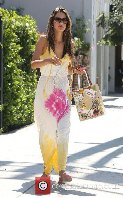 Alessandra Ambrosio and West Hollywood 9