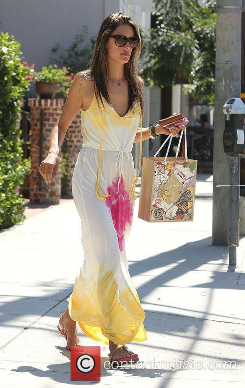 Alessandra Ambrosio and West Hollywood 8