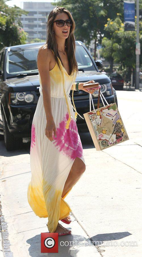 Alessandra Ambrosio and West Hollywood 1