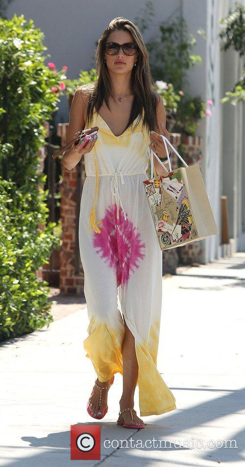 Alessandra Ambrosio and West Hollywood 5