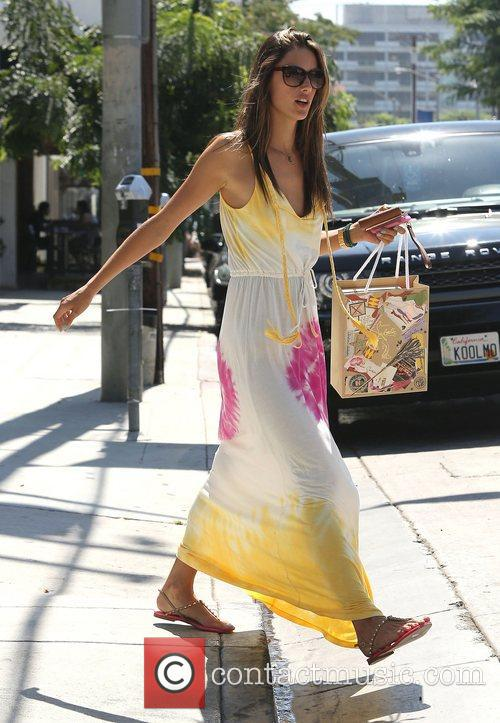 Alessandra Ambrosio and West Hollywood 6