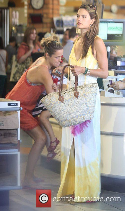 Alessandra Ambrosio and West Hollywood 11