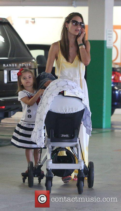 alessandra ambrosio out in west hollywood with 4087013