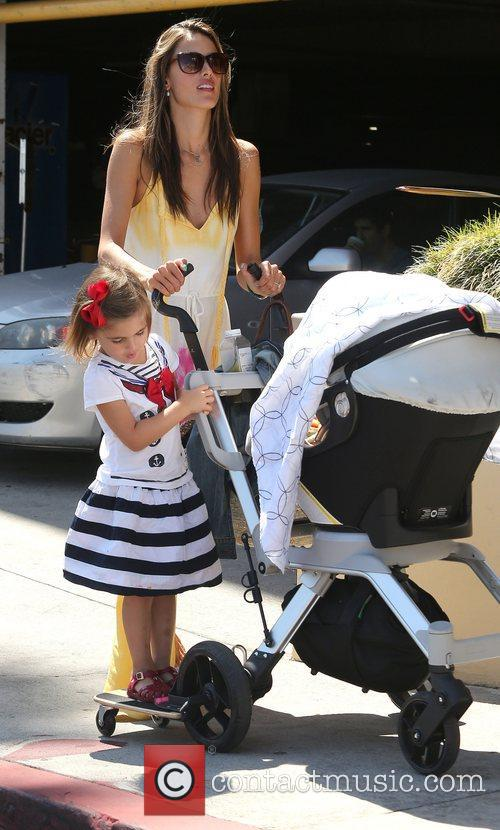 Alessandra Ambrosio, West Hollywood and Anja 7