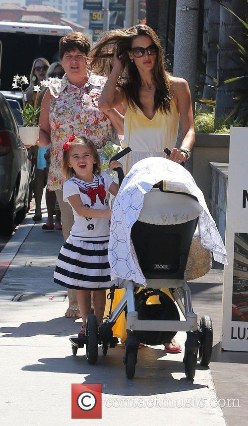 Alessandra Ambrosio, West Hollywood and Anja 4
