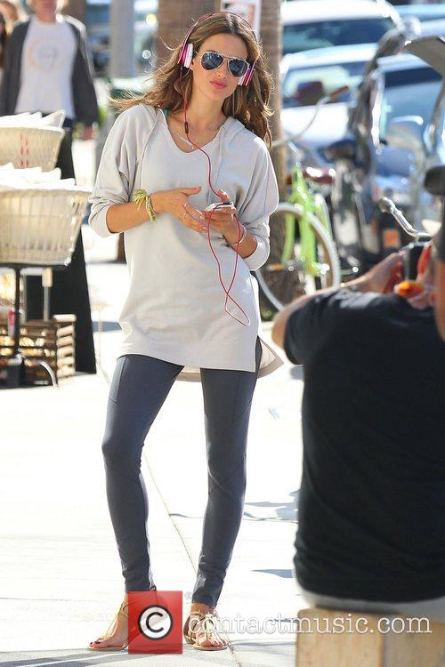 alessandra ambrosio shooting on location on abbot 5940964