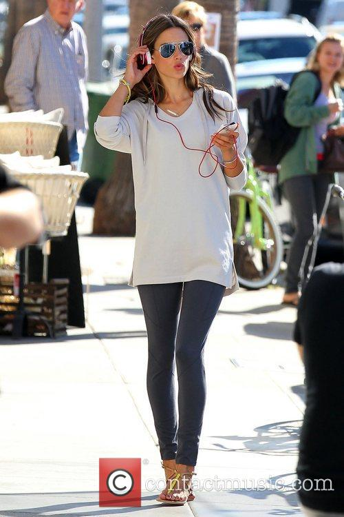 alessandra ambrosio shooting on location on abbot 5940968