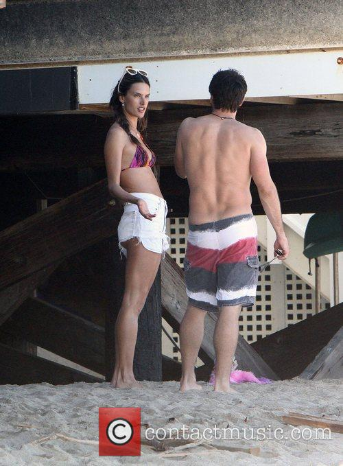 Alessandra Ambrosio and Malibu Beach 1