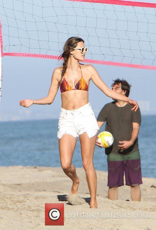 Alessandra Ambrosio and Malibu Beach 18