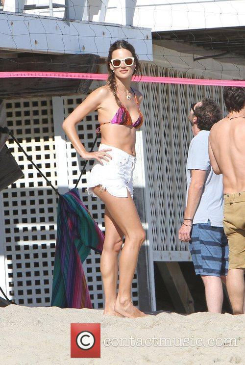 Alessandra Ambrosio and Malibu Beach 19