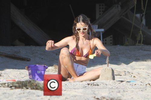 Alessandra Ambrosio and Malibu Beach 3