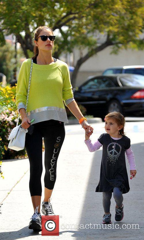 pregnant with her second child alessandra ambrosio 5813092