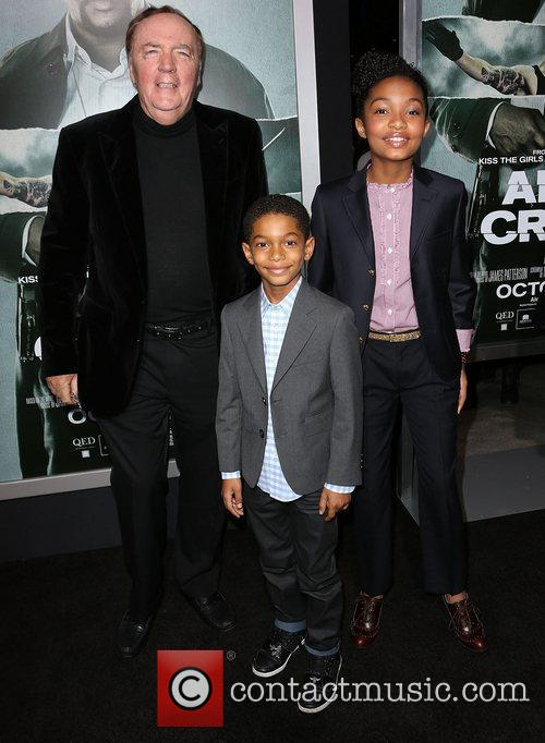 James Patterson, Sayeed Shahidi, Yara Shahidi and Arclight Cinemas 3