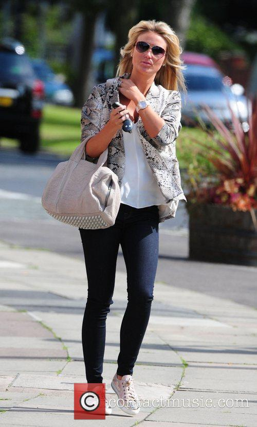 Alex Gerrard aka Alex Curran out and about...