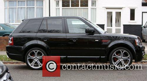 Steven Gerrard's brand new limited edition Range Rover,...