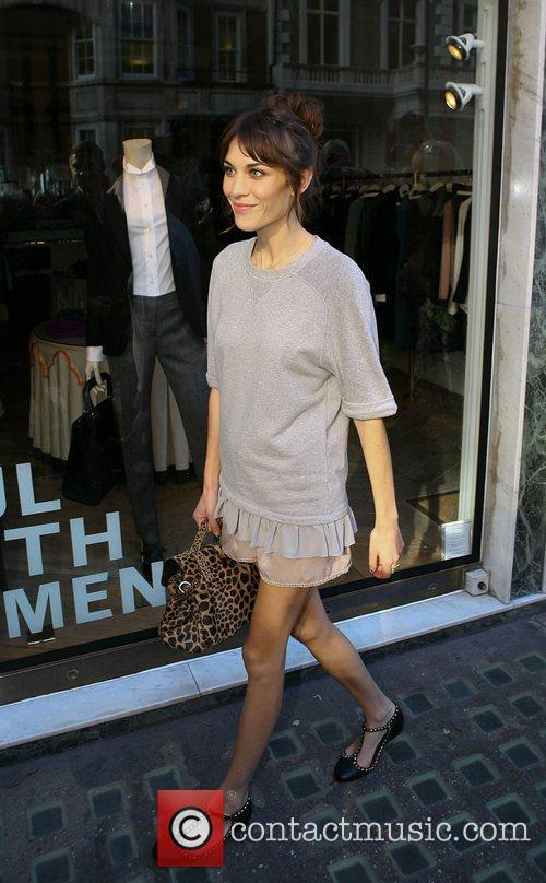 alexa chung outside claridges hotel during london 4088713